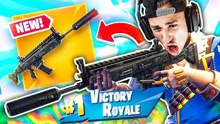 FORTNITE: COME SCIOGLIE LA NUOVA ARMA! SCAR SILENZIATO (Fortnite Battle Royale)