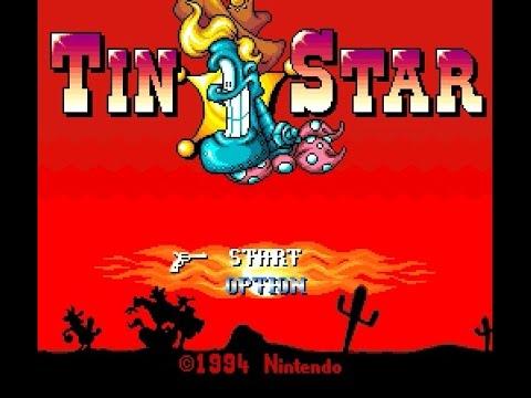 SNES Longplay [346] Tin Star