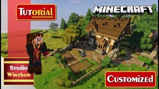 Download Minecraft Tutorial Simple Extreme Hills Biome Dwarven House - Minecraft hauser verschonern