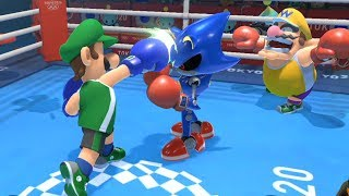 Mario & Sonic at Tokyo 2020 Olympic Games Boxing Bowser, Luigi, Amy, Sonic ▻ If you have any request, please comment for me now. ▻ SUBSCRIBE: ...