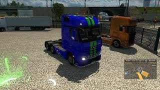 euro truck simulator 2 стрим катаемся в мп в гостях игривый сосисон
