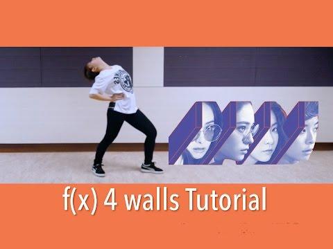 f(x) 에프엑스 - 4 Walls Dance Tutorial   FULL Mirrored [Charissahoo]