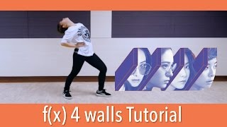 f(x) 에프엑스 - 4 Walls Dance Tutorial (mirrored)