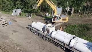 Fachgerechter Einbau von FBS-Betonbauteilen für Abwasserleitungen und -kanäle