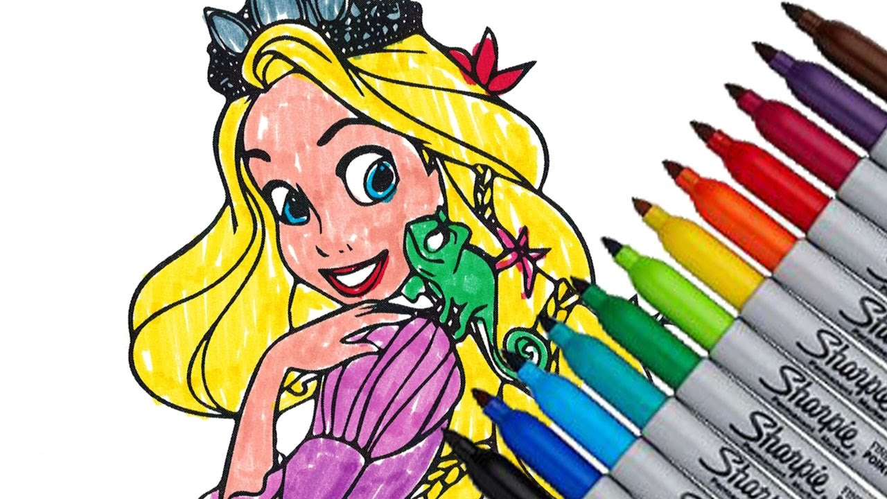 Beautiful Disney Frozen Coloring Book Images