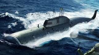 Hobby Boss 1/350 scale Akula class submarine (Russia) Updt 02