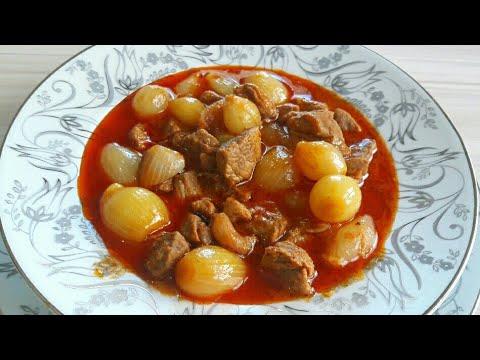 PATATESLİ DANA YAHNİ yemeği tarifi - LOKUM ET - Et yemekleri - #yahni