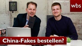 China-Fakes online bestellen – legal? | RA Christian Solmecke mit China-Gadgets.de