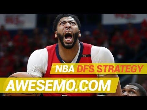 Yahoo, FanDuel & DraftKings NBA DFS Strategy - Sat 1/12 - Awesemo.com