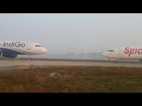 IndiGo, SpiceJet flights come face-to-face at Delhi's IGI airport