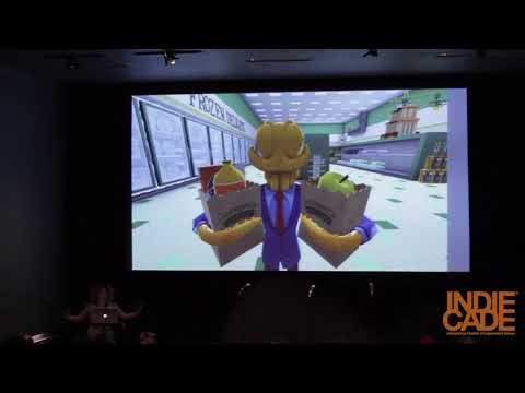 IndieCade East 2016: Subversive Humor and The Absurdity of Real Life Experience - Yifat Shaik