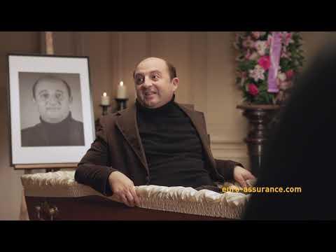 Vidéo Publicité Euro-Assurance - Les Funérailles