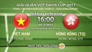 full   l hong nam vn hong wong kit hk 3 0   trận 4 đơn nam davis cup nhm ii kv chu