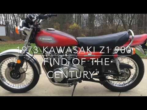 Kawasaki Z1 900 Find Of The Century