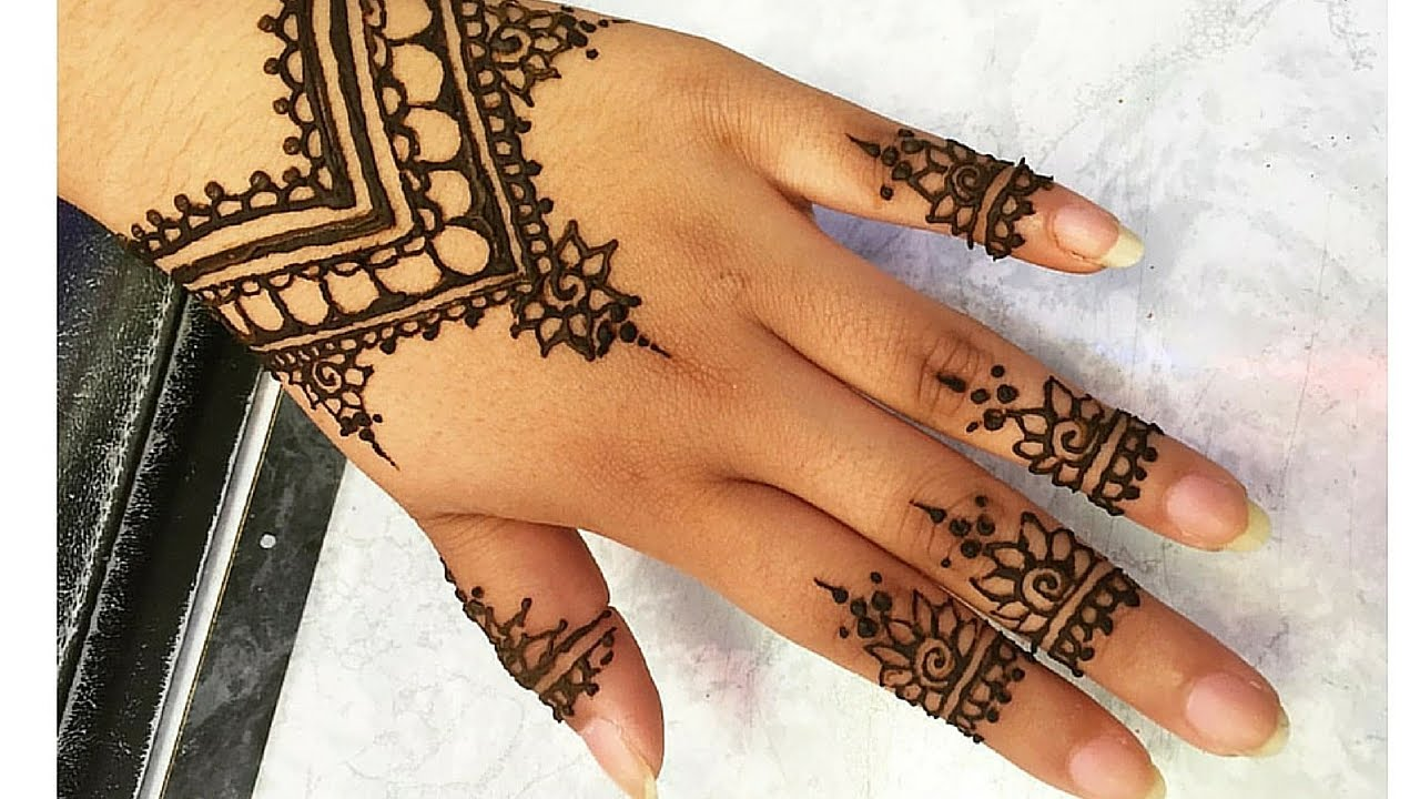 how to make henna designs