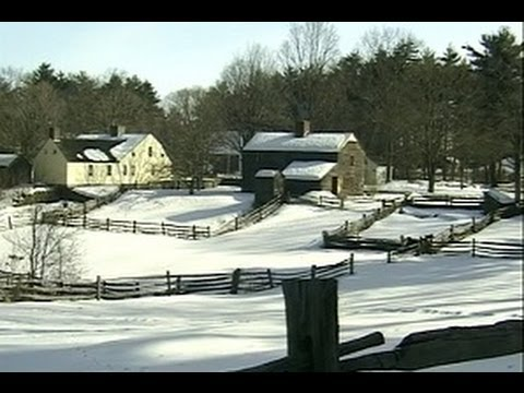 New England, USA: Winter in the Berkshires