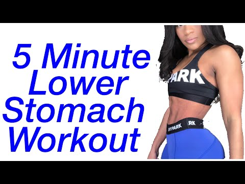 How to get rid of lower stomach fat (No equipment)