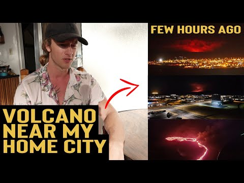 VOLCANO ERUPTED NEAR CAPITAL CITY IN ICELAND - Is My Family Safe?