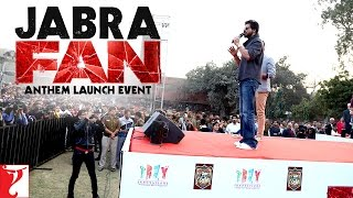 Jabra FAN Anthem Launch Event | Shah Rukh Khan