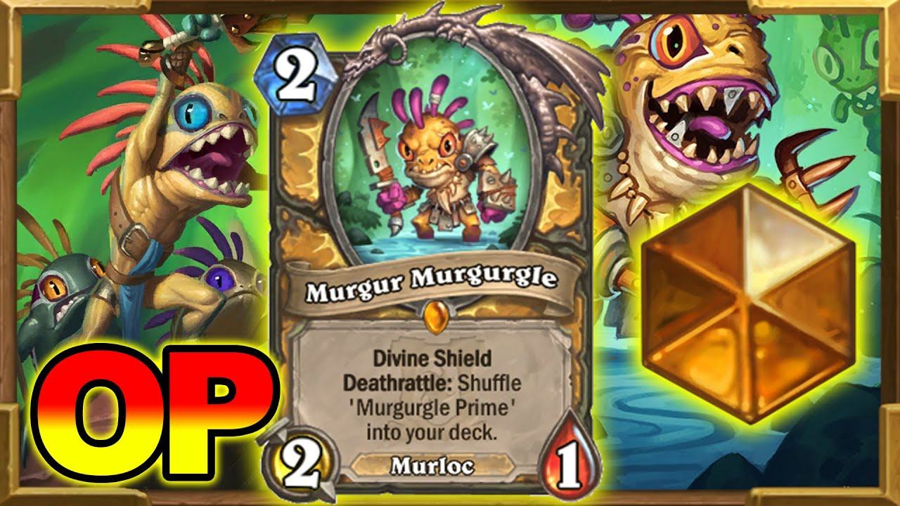 Best Deck To Get Legend | Murloc Paladin Is Even Better If You Learn How To Play It! Hearthstone