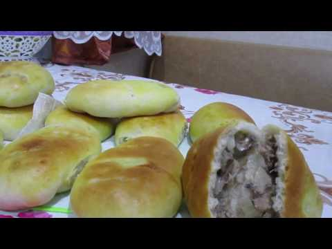 Рыбные пирожки. Пирожки с рыбой и луком. Просто вкусно!