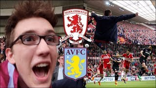 Playoff Away leg: MIDDLESBROUGH 0-1 ASTON VILLA | 12/5/18 | HUGE AWAY LEG VICTORY...