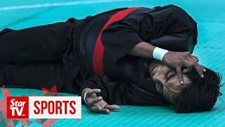 SEA Games: Misfortune befalls pesilat Muhammad Faizul