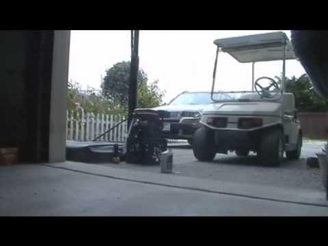 Electric golf cart problem/Cold Start 6.5 hp engine