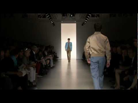 Calvin Klein - Spring / Summer 2011 Menswear Fashion Show