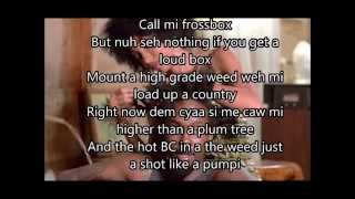 Popcaan-weed is my best friend(lyrics) August 2015
