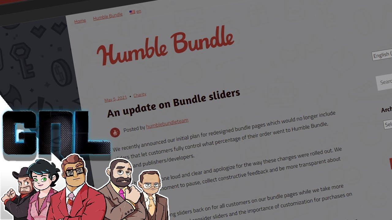 #IGN #HumbleBundle Slider Fumble Reversed