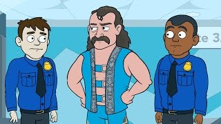 Jake Roberts recalls when his snake escaped at an airport on WWE Story Time, only on WWE Network