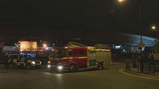 Two in hospital after chemical incident at London City airport