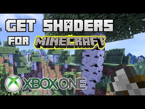 How To Add Shaders On Minecraft XBOX ONE / Mod Das Sombras