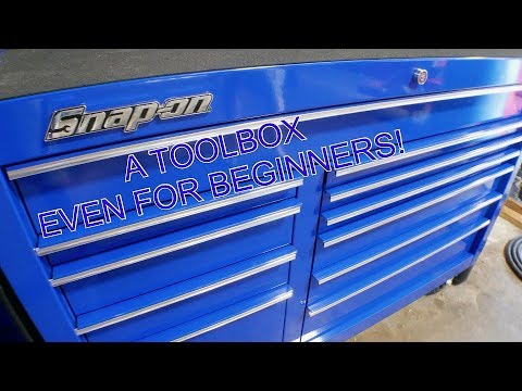 SNAP-ON TOOLBOX TOUR FOR THE BEGINNER MECHANIC