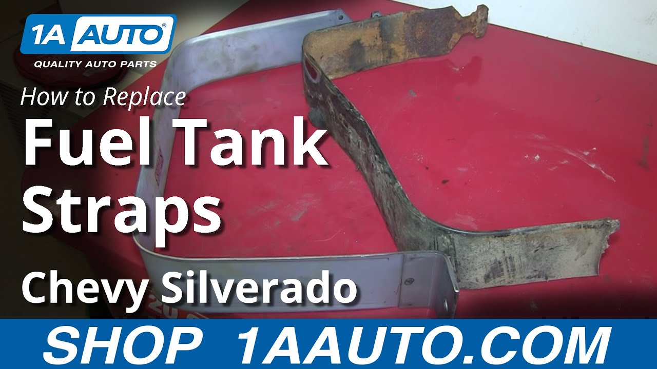 How To Replace Install Rusted Gas Tank Straps 1999 06