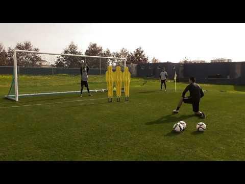 Treino de guarda-redes Portimonense - Goalkeeper training