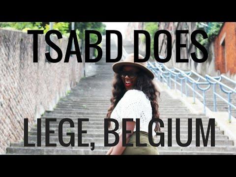 I'm in Liege, Belgium! #TSABDinLiege