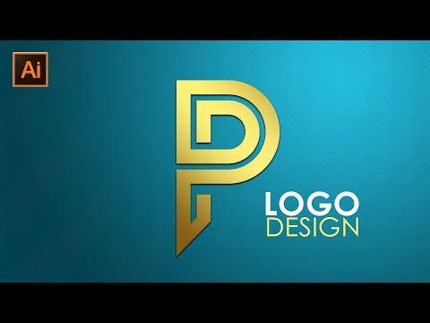 Logo Design | Illustrator CC Tutorial | Letter P
