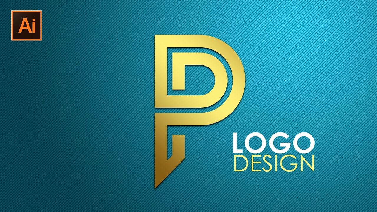 logo design illustrator cc tutorial letter p