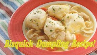 Chicken And Dumpling Slow Cooker Recipe