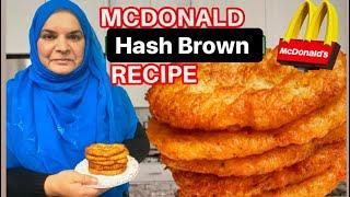 Mcdonald's Style Hash Brown recipe