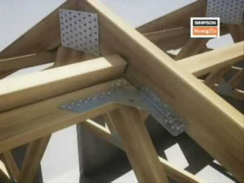 Laminated Wooden House Joint Of Milano Youtube