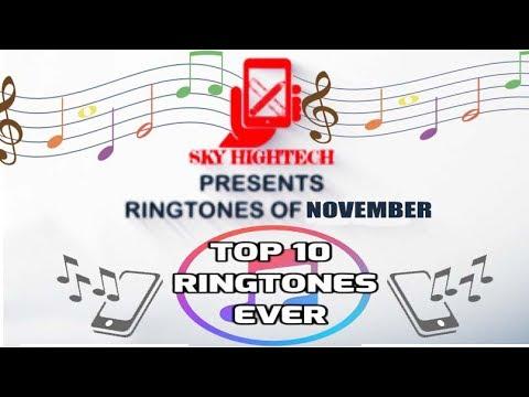 Top 10 Best Ringtones 2017 November - Marimba Remix English Songs Special - November month special