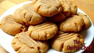 3 Ingredient Peanut Butter Cookies - Recipe