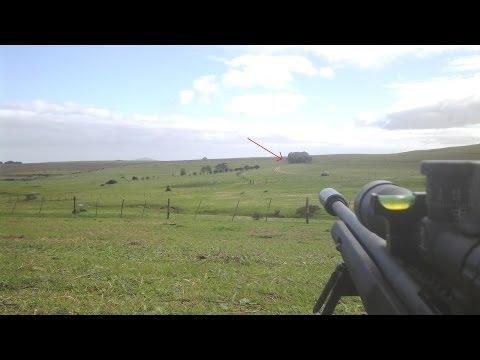 Remington 700 SPS 308 at 1000m Long Range 1093 yards