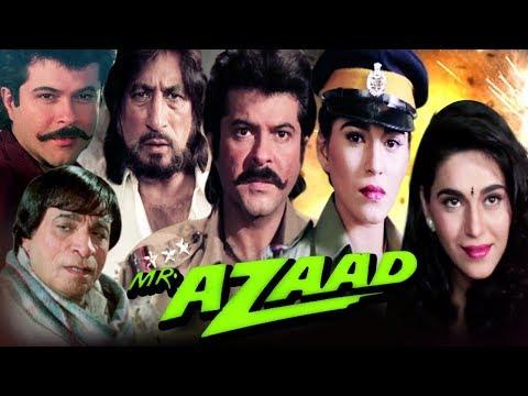 Mr. Azaad Full Movie HD | हिंदी एक्शन फिल्म | अनिल कपूर | कादर खान | बॉलीवुड एक्शन मूवी