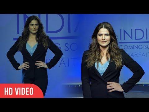 Zarine Khan At Parafait Plus Size Fashion Show 2019   Parafait Lingerie. http://bit.ly/2HOChP6