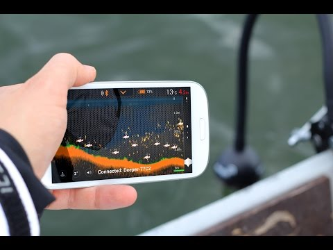Deeper: Smart Fishfinder - wireless sonar - How to use