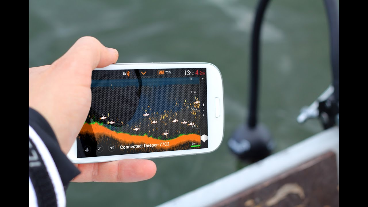 deeper: smart fishfinder - wireless sonar - how to use - youtube, Fish Finder